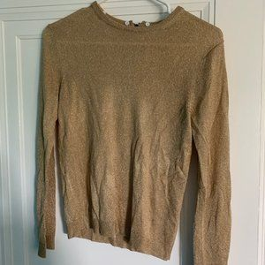 Gold Alice + Olivia Sweater